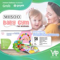 MIISOO Baby play mat Musical Playmat piano / baby play gym piano