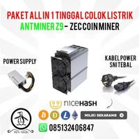 Dijual Bitmain Antminer Z9 40 Ksol PSU Ready Stock Berkualitas
