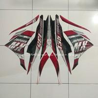 stiker striping Jupiter MX new 135 2013 hitam merah