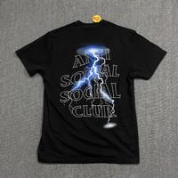 Anti Social Social Club ASSC Lightning T-Shirt (Black) REP MIRROR 1:1