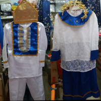 baju adat manado anak / pakaian adat sulawesi - laki . L