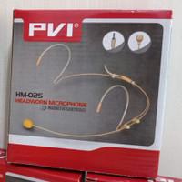 mic lidi headworm PVI hm02s kualitas top suara merdu padat melengking