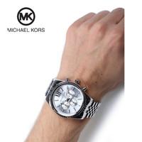 (100% ORIGINAL) Jam Tangan MICHAEL KORS Lexington Pria MK8405 44mm