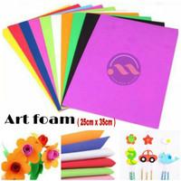 Art Foam / Foam Art 2mm *25x35cm* / EVA FOAM / Spon Eva / Busa Ati