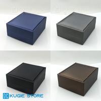 Kotak Perhiasan Tempat Liontin / Kalung / Gelang Bahan PU Leather