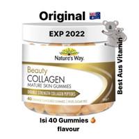 Nature's Way Beauty Collagen Mature Skin 40 gummies natures double