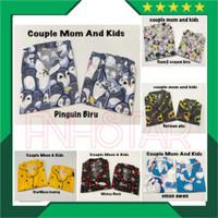 Piyama Couple Mom and Kids 1-6th Baju tidur Couple ibu dan anak