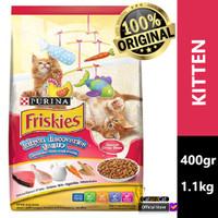 FRISKIES Kitten Discoveries 400gr & 1.1kg, Makanan Anak Kucing