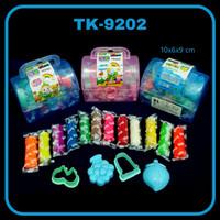 SOS Playdough TK-9202 / Lilin Plastisin / Mainan Anak / Playdough Clay