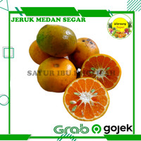 Jeruk Medan Segar Manis Super 500-1kg Buah Segar Bogor