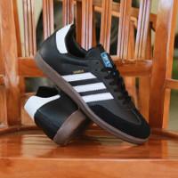 Sepatu Adidas Samba Black List White Original BNWB
