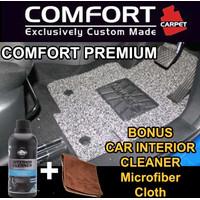 Karpet Mobil COMFORT Honda Brio / Brio Satya 2baris Premium Heelpad
