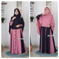 Baju Gamis Muslim Wanita Syafina Syari Wanita Remaja Murah Terbaru