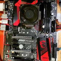 MOTHERBOARD 1151 MSI Z170 A GAMING M5 bukan asus gigabyte z370 b250