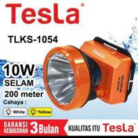 Tesla Senter Kepala Selam 10w TLKS-1054 Head Lamp Diving Menyelam 200m