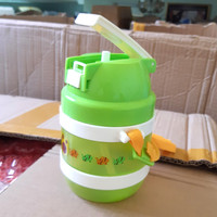 Tumbler Botol Minum Anak Warna Hijau Arniss DB-0145 450ml + Gantungan