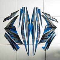 stiker striping Yamaha Jupiter z 2011 biru