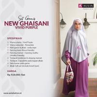 Aulia Fashion Dress Wanita New Ghaisani Vivid Purple - S