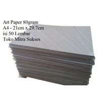 Kertas Art Paper 80gram A4 isi 50 Lembar