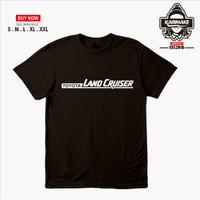 Kaos Baju Mobil Toyota Land Cruiser Font Kaos Otomotif - Karimake