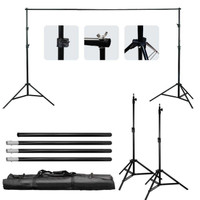 Background stand 2 x 3 meter / Bracket Stand 3m Backdrop Foto Studio - Tanpa Backdrop
