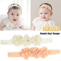 BABY LEON Bando Anak Bayi Bandana Bayi Baby Headband TY-023 / TY-024