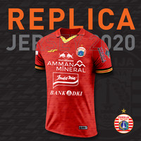 JERSEY REPLICA HOME KIT PLAYER RED 2020