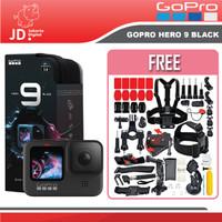 GoPro Hero 9 Black Action Camera Kamera Vlogging 5K 20MP PAKET ACC