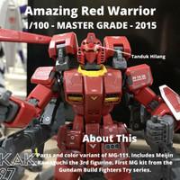 MG Gundam / Amazing Red Warrior - Bandai 2015