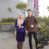 Batik Kebaya Brukat Baju Seragam Modern Baju Pesta Tunangan Keluarga