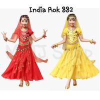Fashion India / India rok anak murah / baju india / kostum india