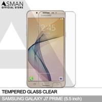 Asman Premium Tempered Glass Anti Gores for Samsung J7 Prime - Clear