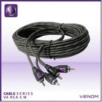 venom car audio kabel rca 5m