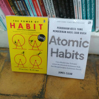 Paket The Power of Habit Charles Duhigg + Atomic habits James Clear