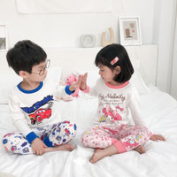 Babies setelan piyama anak character disney baju tidur kids cute goofy