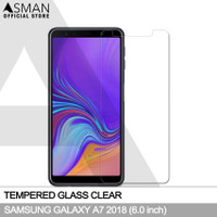 Tempered Glass Samsung Galaxy A7 (2018)   Anti Gores Kaca - Bening