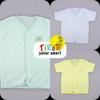 Baju Bayi 3PCS Baru Lahir Laki Laki Perempuan Tirex Junior SNI Pendek