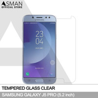 Asman Premium Tempered Glass Anti Gores for Samsung J5 Pro - Clear