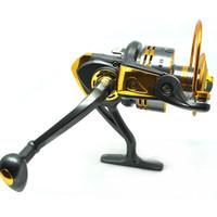 Gulungan Reel Pancing DB6000A Metal Fishing Spin Reel 10 Ball Bearing - Gold