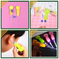Pembersih Telinga | Korek Kuping Karakter Imut Lampu LED - Earpick Car