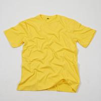Kaos Polos Katun Combed Kuning Premium Quality Kepomp
