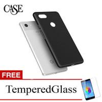 Case for Google Pixel 3 2018 - 5.5 inch - Slim Soft Case - Hitam Solid