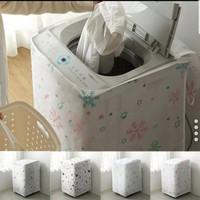 Cover Pelindung Mesin Cuci Tabung A buka atas - Snowflake