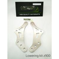 Lowering kit z900 VCOS penurun shock sok belakang biar pendek dropkit