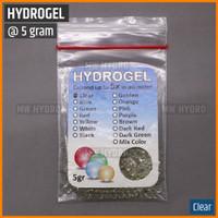 Hydrogel / Hidrogel 5 gram - Clear / Transparant / Bening