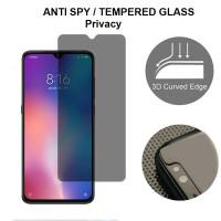Anti SPY Vivo Y91 Y93 Y95 Y91c - Tempered Glass Anti Gores Kaca Hitam