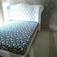 tempat tidur 1 set kasur inoac uk 180x200