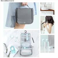 Xiaomi J&J Toiletry Bag Hook Tas Travel Sabun Alat Mandi Makeup Dandan