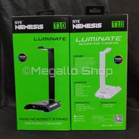 NYK T10 Luminate Headset Stand RGB Garansi Resmi