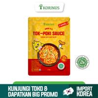 Korinus Tokpoki Sauce / Tteokbokki Sauce / Toppoki Sauce Halal MUI